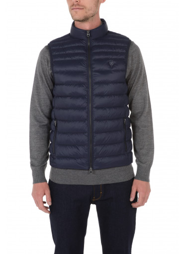 Down-jacket without sleeves
